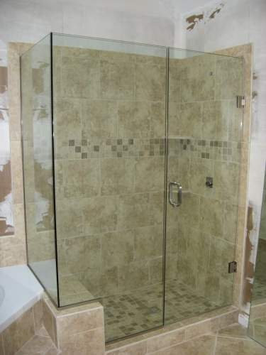 Frameless Glass Shower Enclosures | All South Granite & Marble
